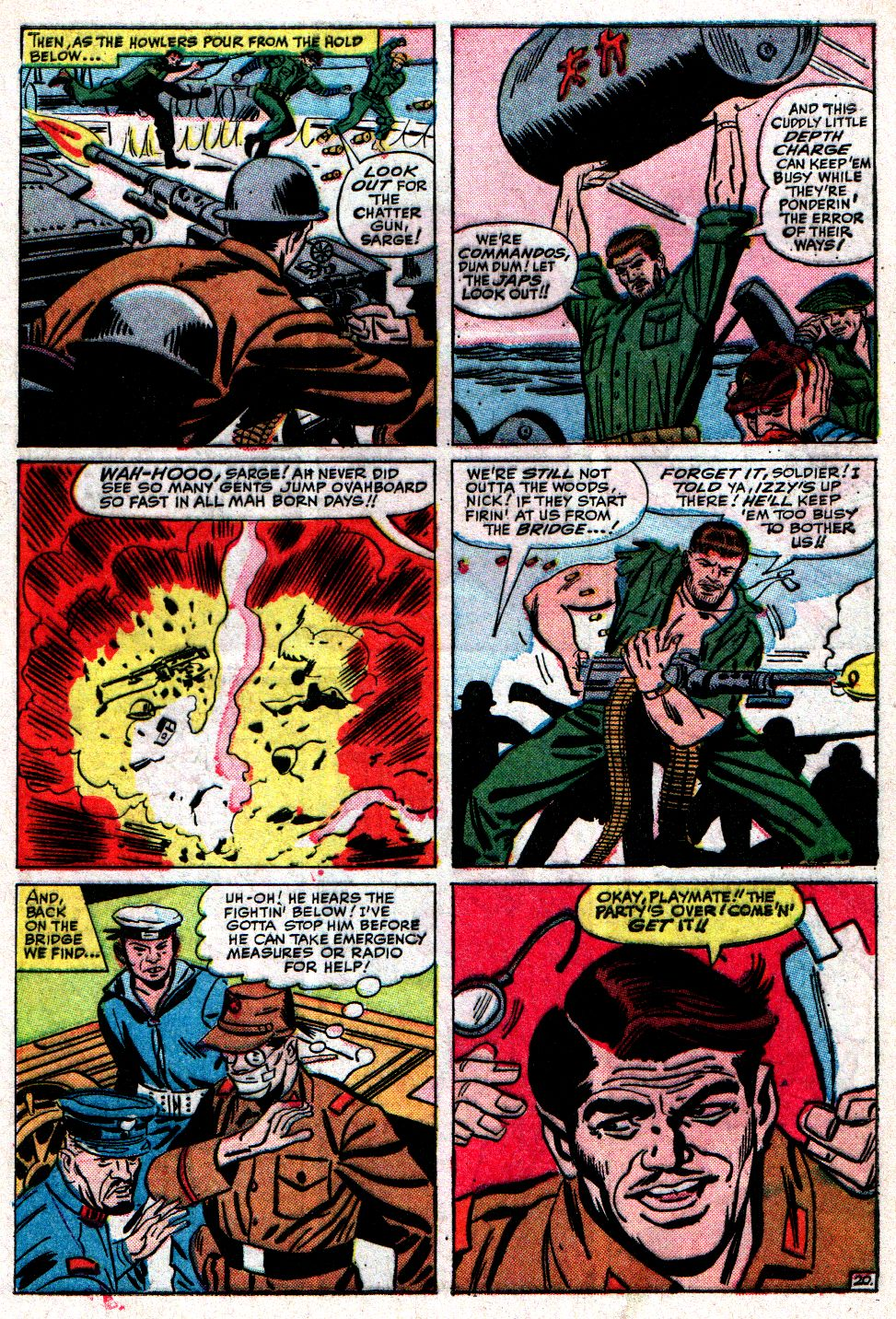 Read online Sgt. Fury comic -  Issue #10 - 29