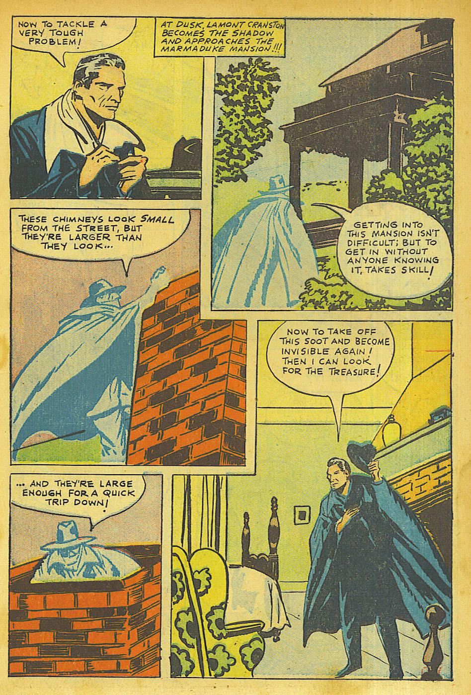 Read online Shadow Comics comic -  Issue #63 - 5