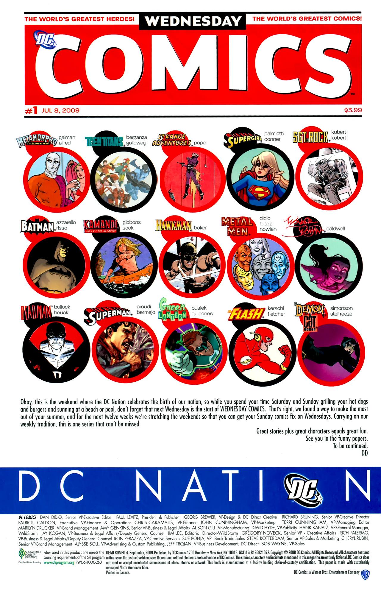 Read online Dead Romeo comic -  Issue #4 - 22