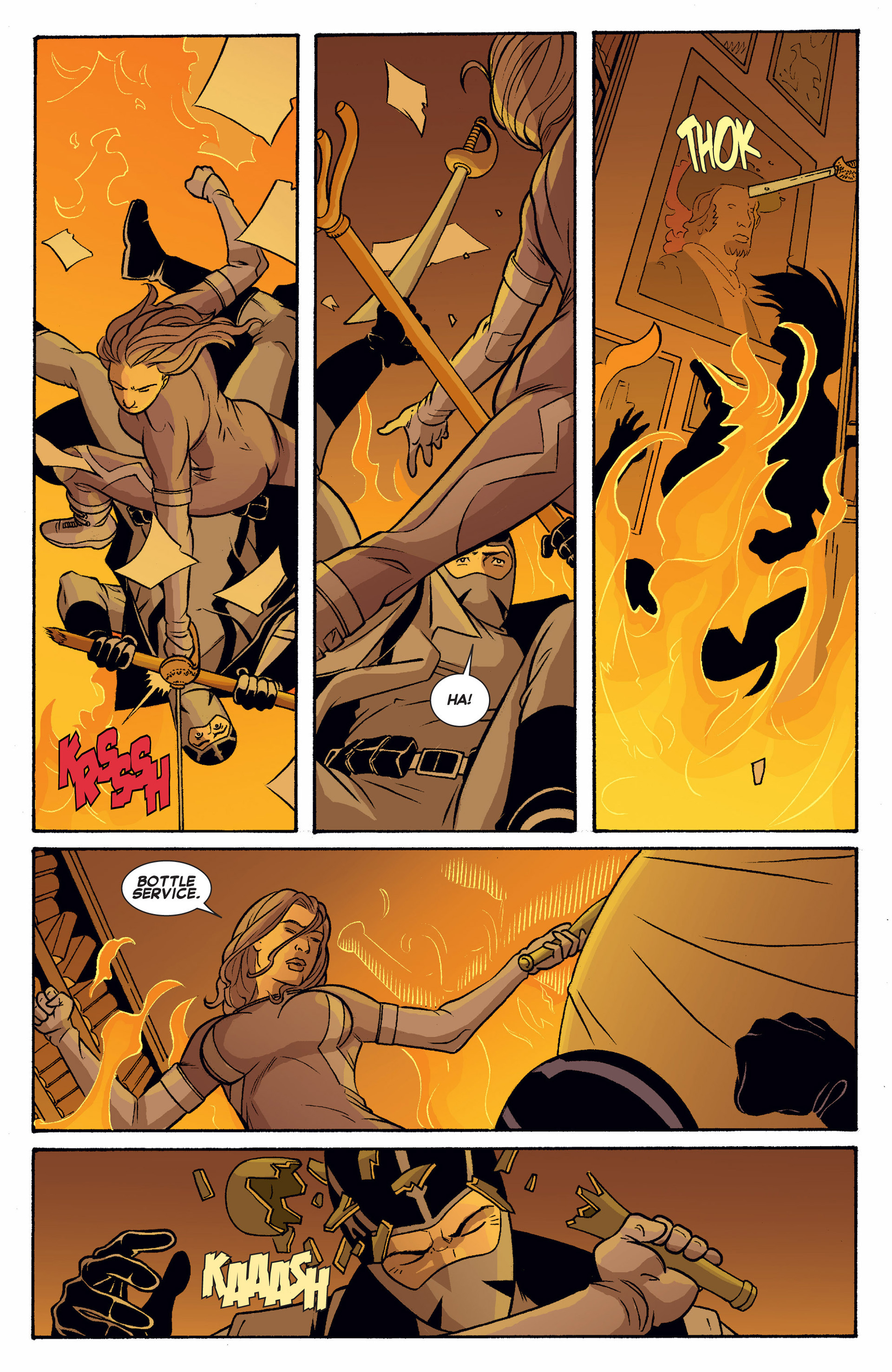 Read online Uncanny X-Force (2013) comic -  Issue #9 - 12