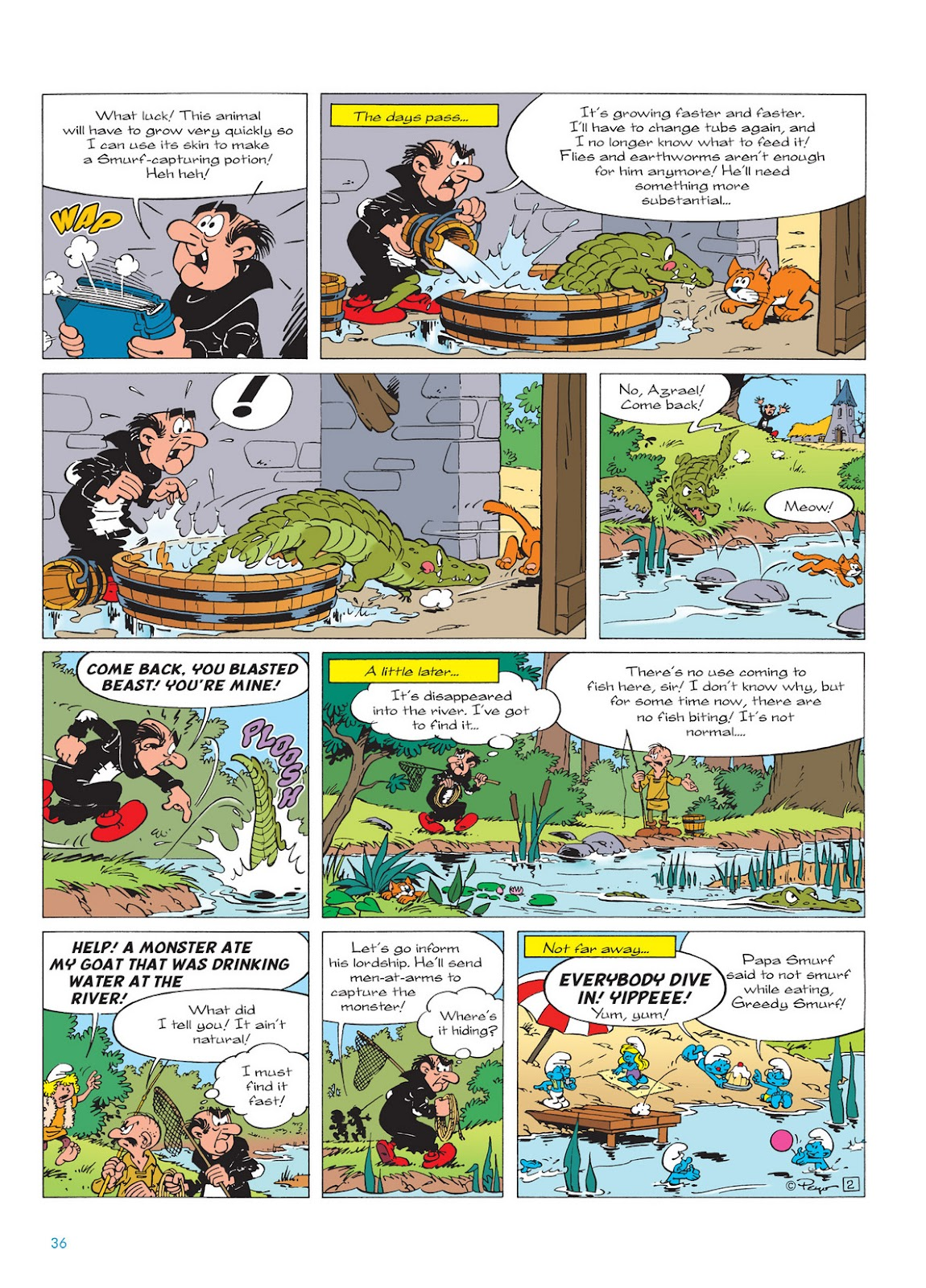 Read online The Smurfs comic -  Issue #13 - 36