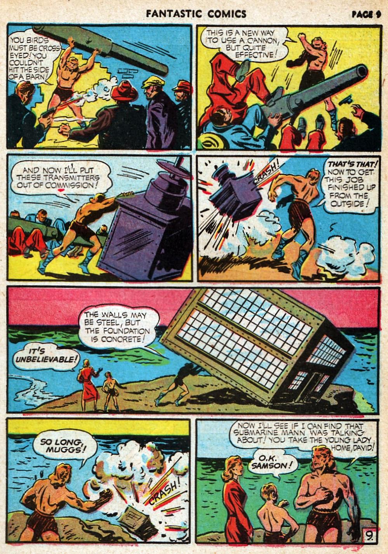 Read online Fantastic Comics comic -  Issue #20 - 10