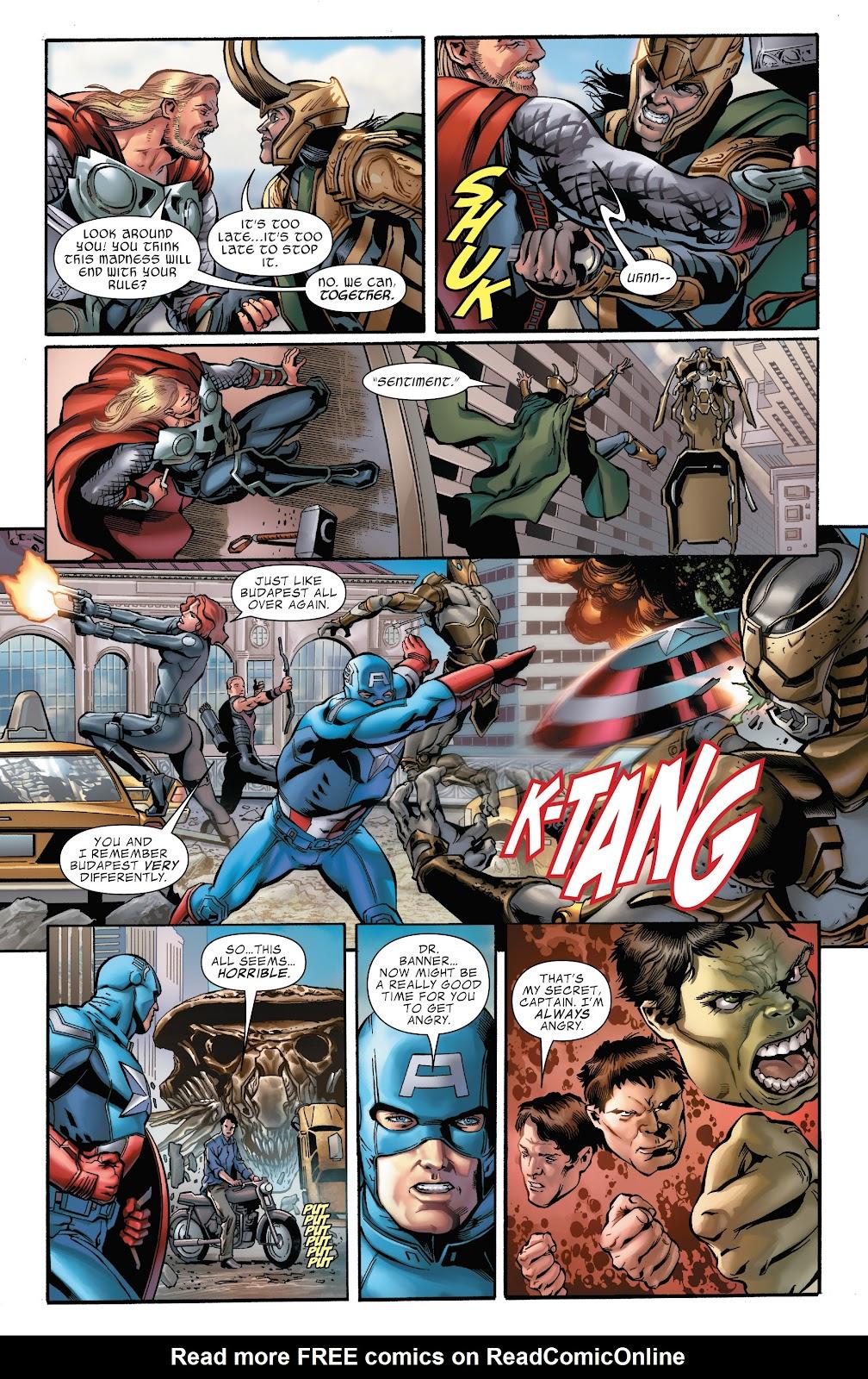 Read online Marvel's The Avengers comic -  Issue #2 - 12