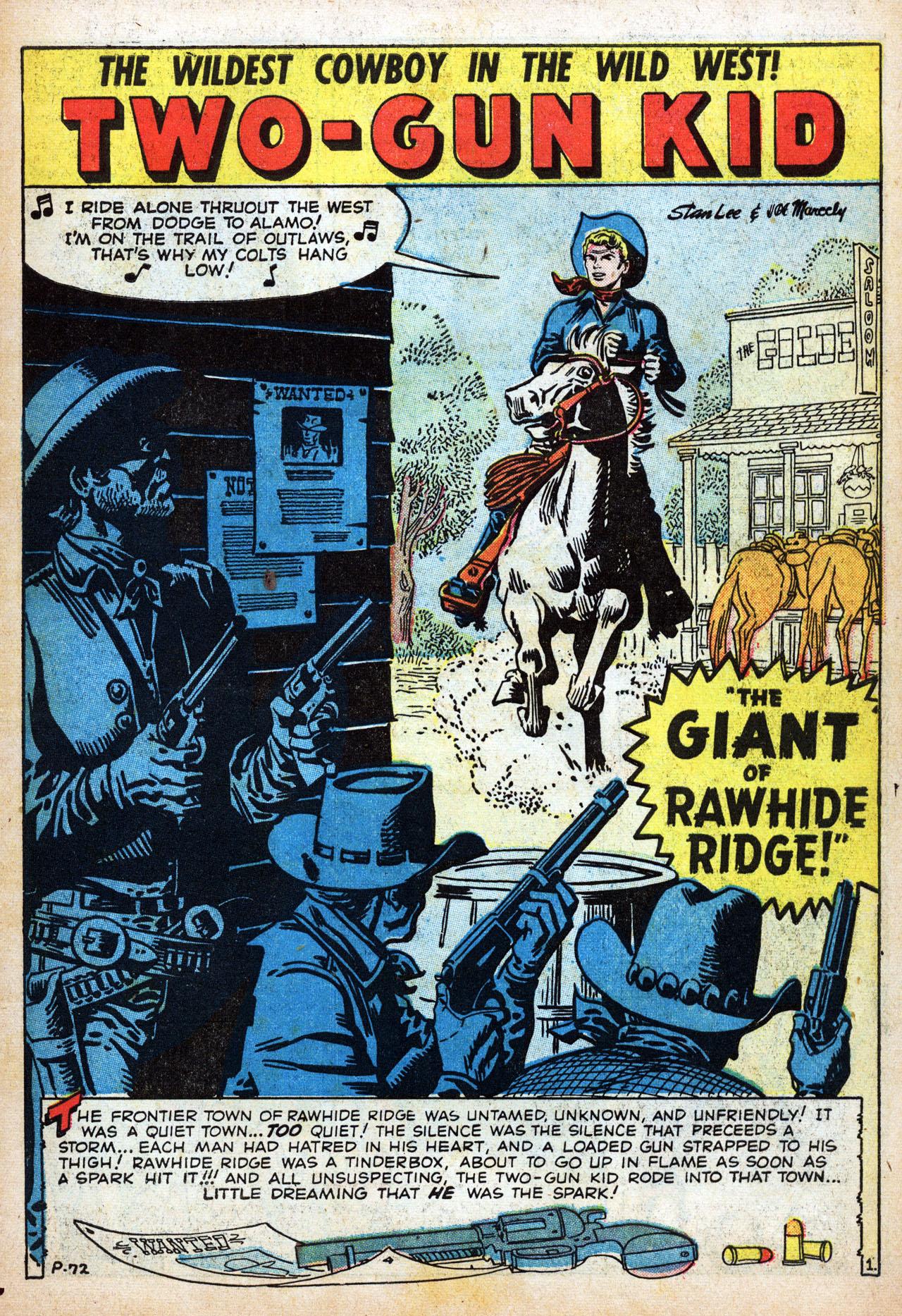 Read online Two-Gun Kid comic -  Issue #42 - 3