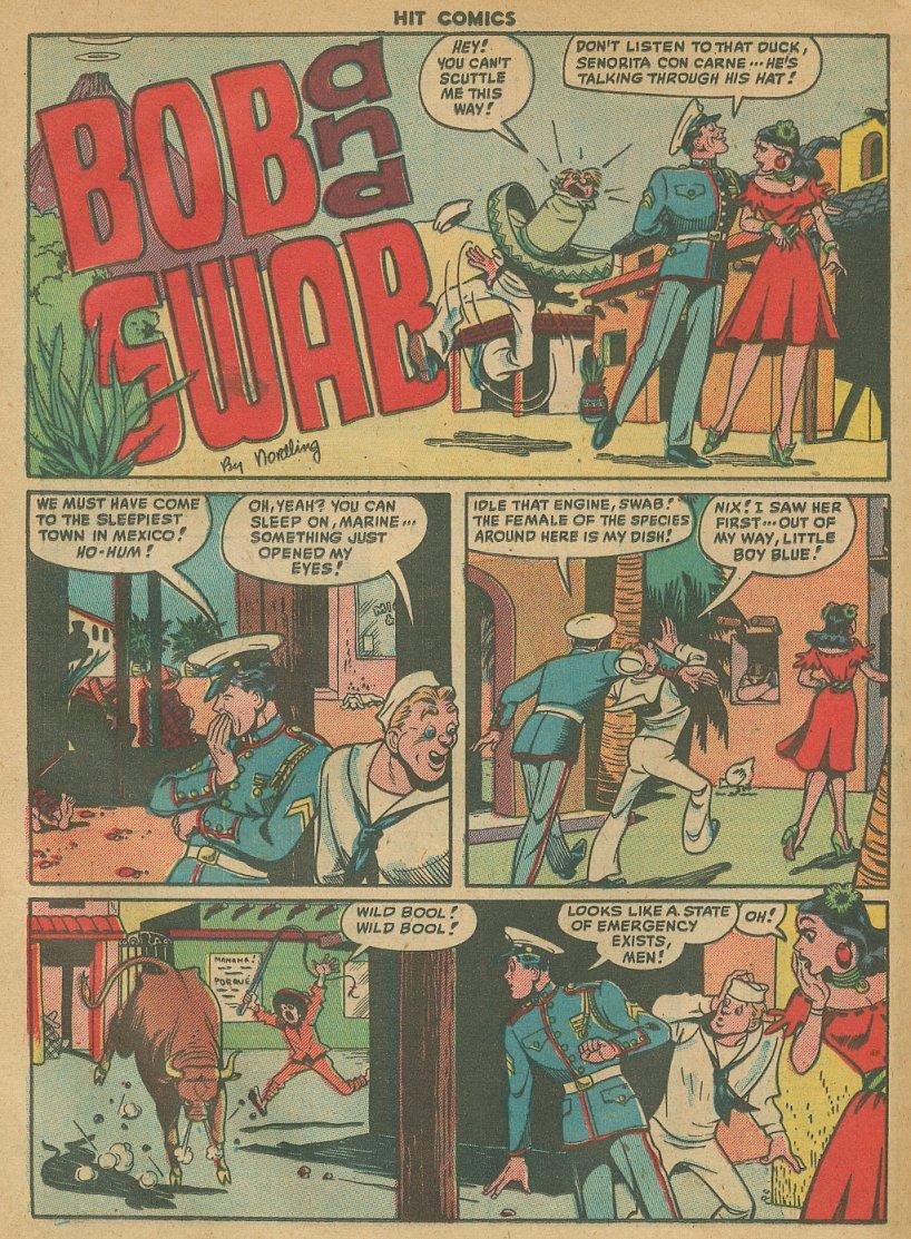 Read online Hit Comics comic -  Issue #61 - 22