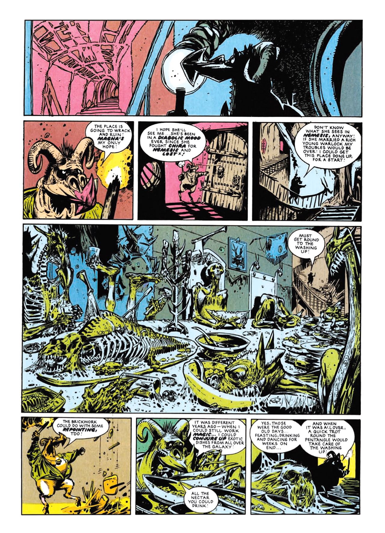 Read online Nemesis The Warlock comic -  Issue # TPB Deviant Edition - 159