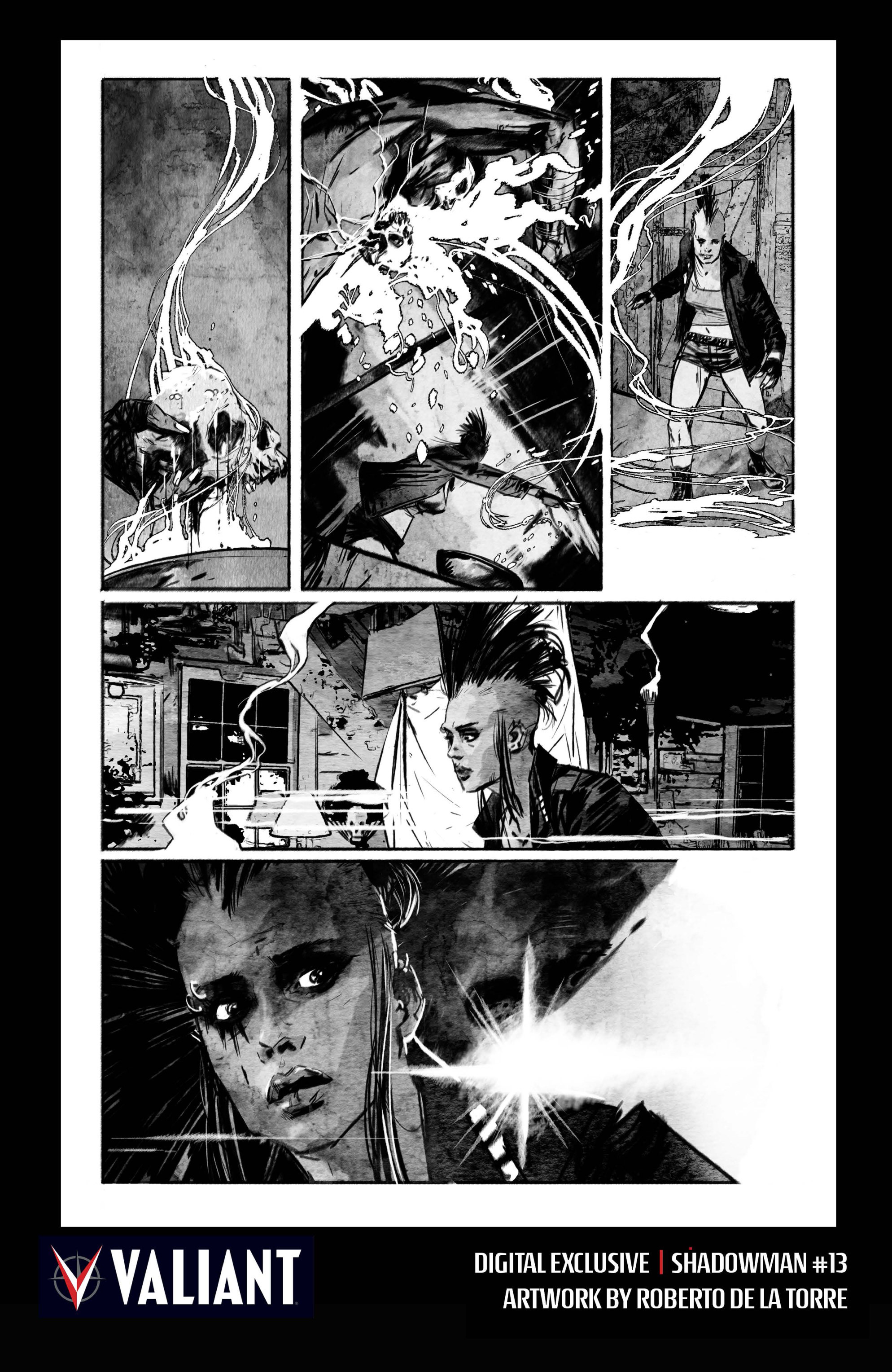 Read online Shadowman (2012) comic -  Issue #13 - 34