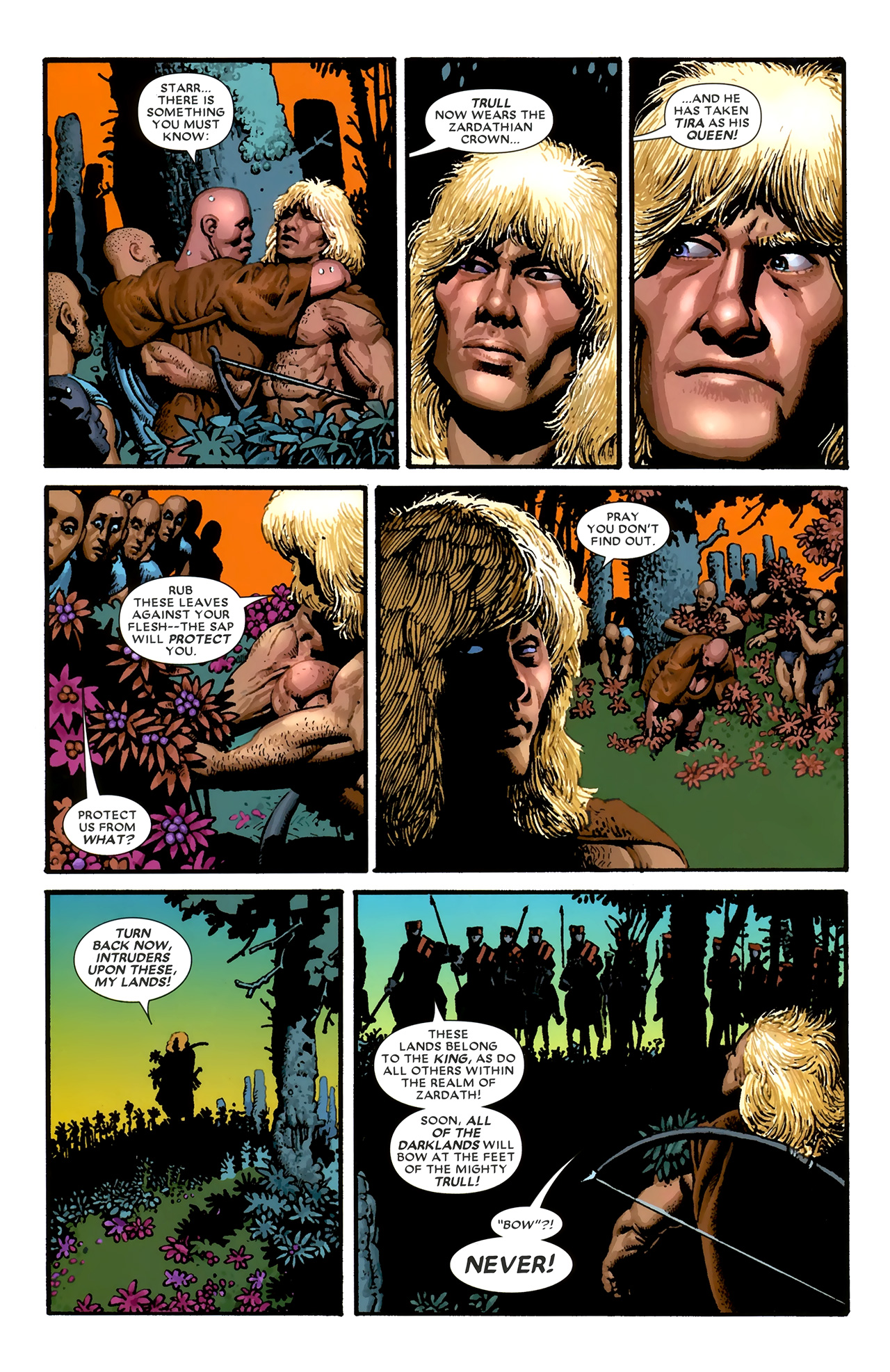 Read online Starr the Slayer comic -  Issue #3 - 21