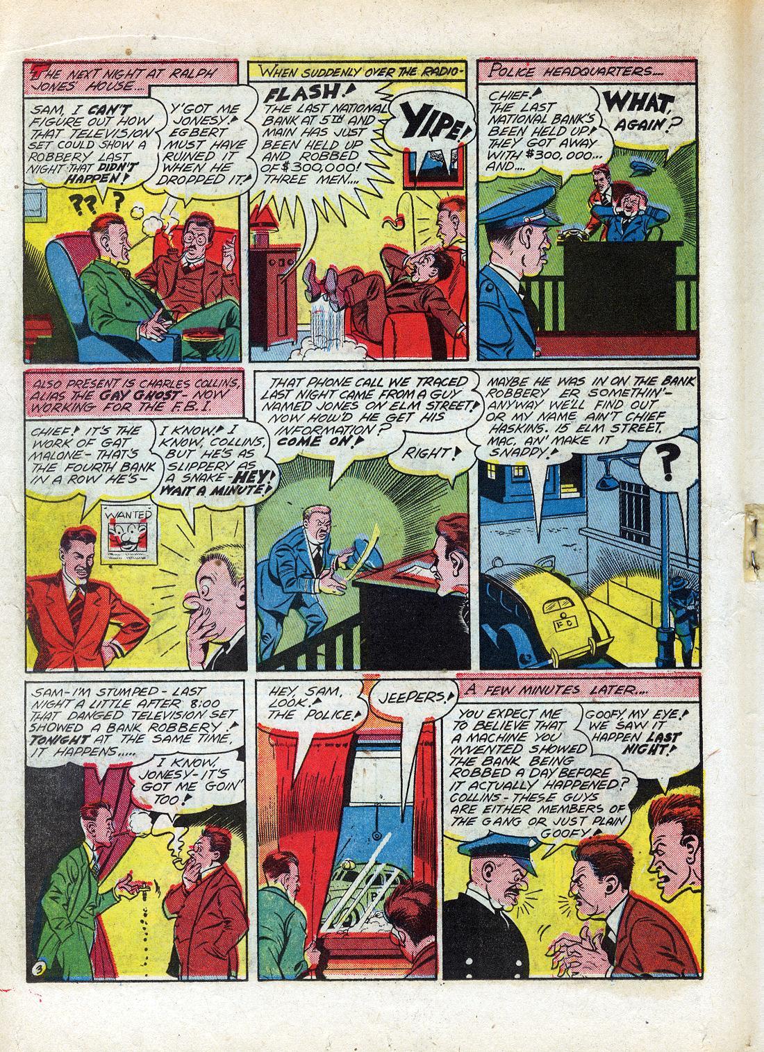 Read online Sensation (Mystery) Comics comic -  Issue #26 - 34