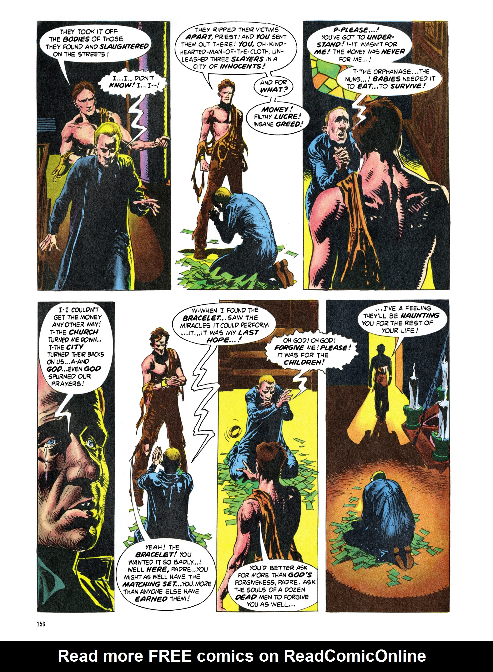 Read online Eerie Archives comic -  Issue # TPB 16 - 157