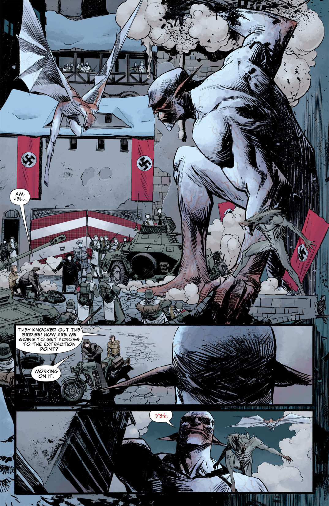 Read online American Vampire: Survival of the Fittest comic -  Issue #5 - 2