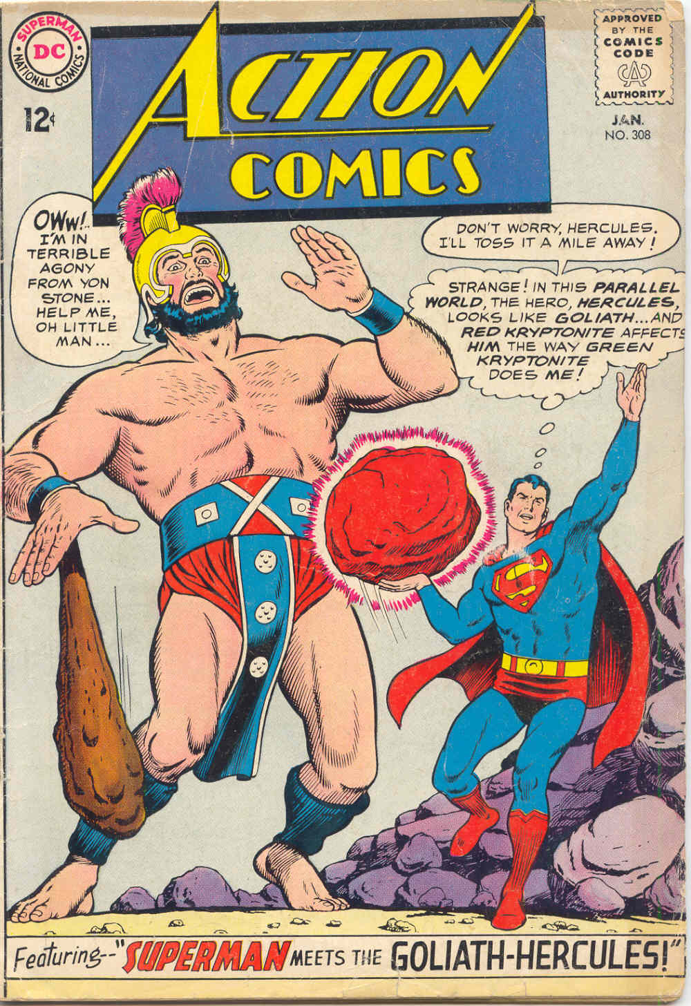Read online Action Comics (1938) comic -  Issue #308 - 1