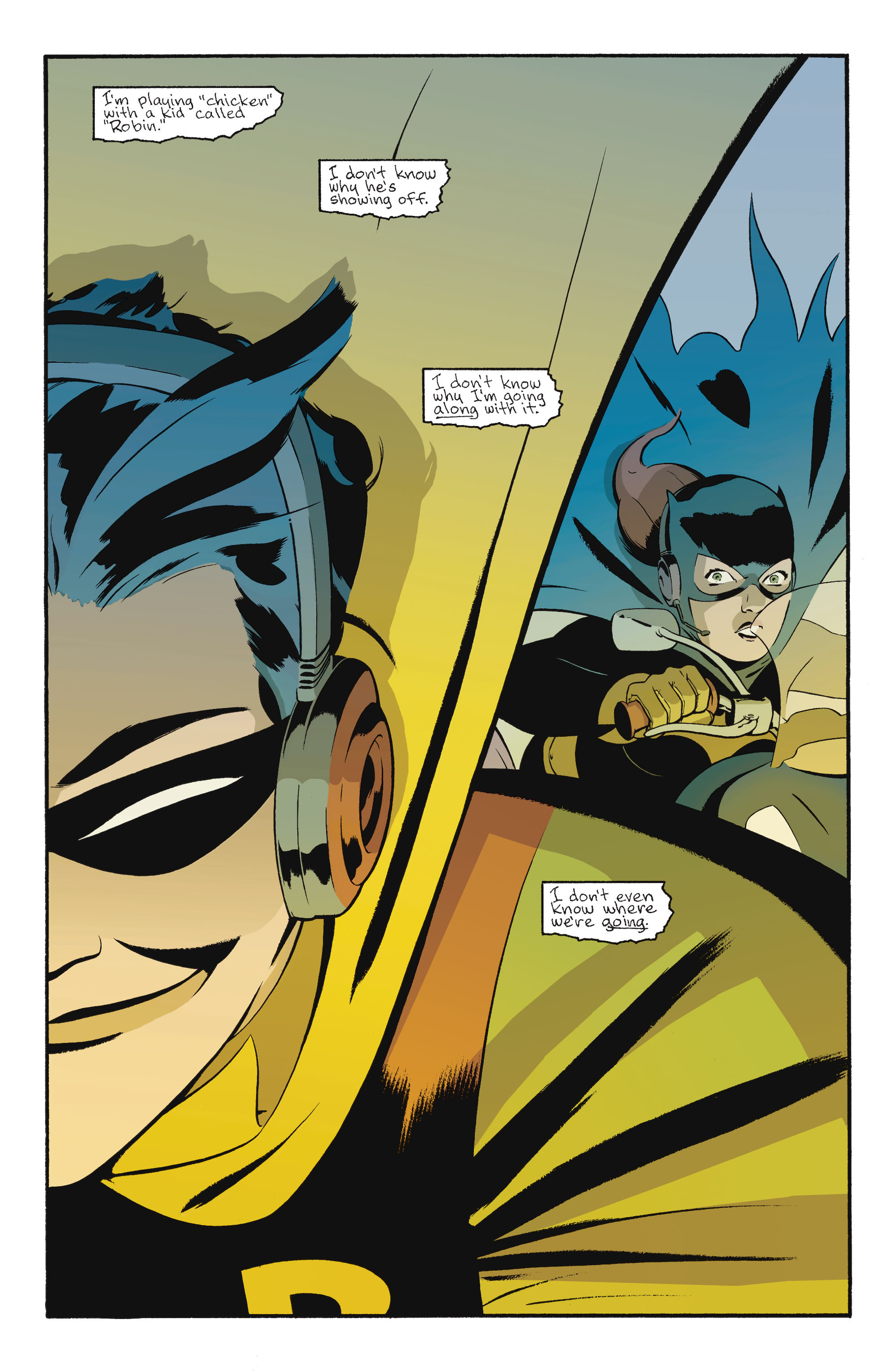 Read online Batgirl/Robin: Year One comic -  Issue # TPB 2 - 155