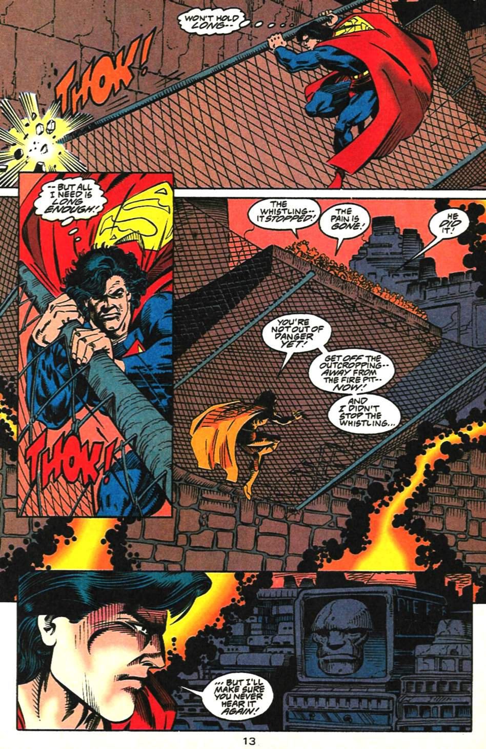Read online Adventures of Superman (1987) comic -  Issue #518 - 14