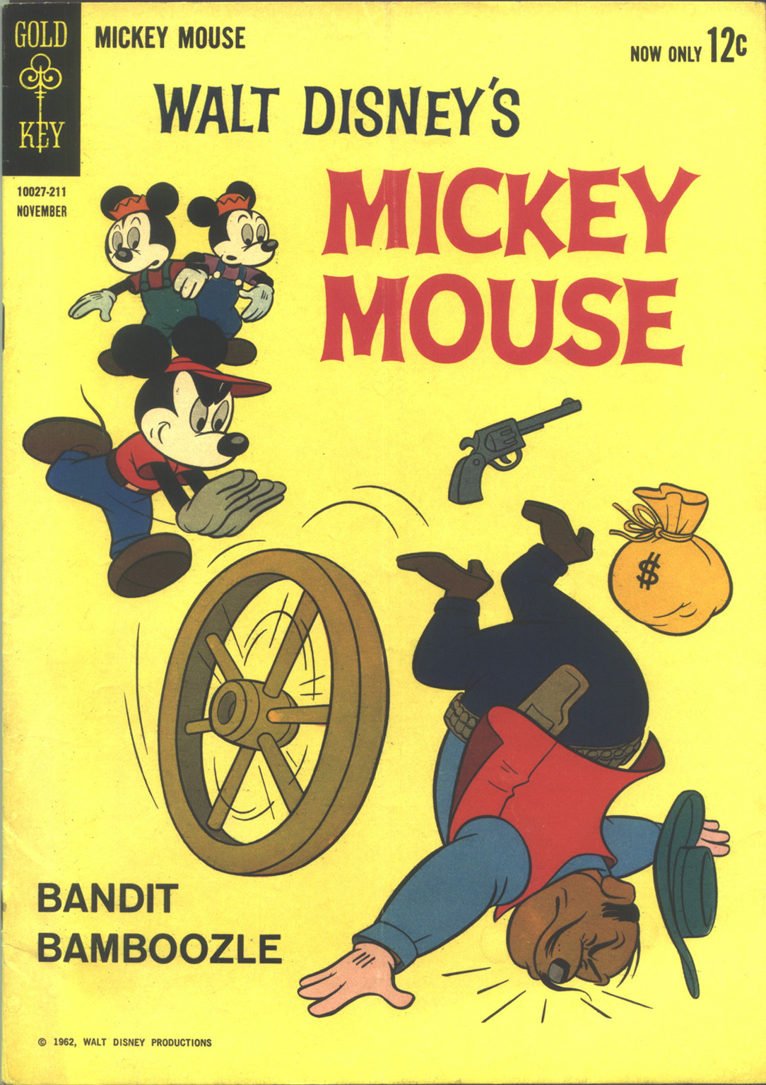 Walt Disney's Mickey Mouse issue 85 - Page 1