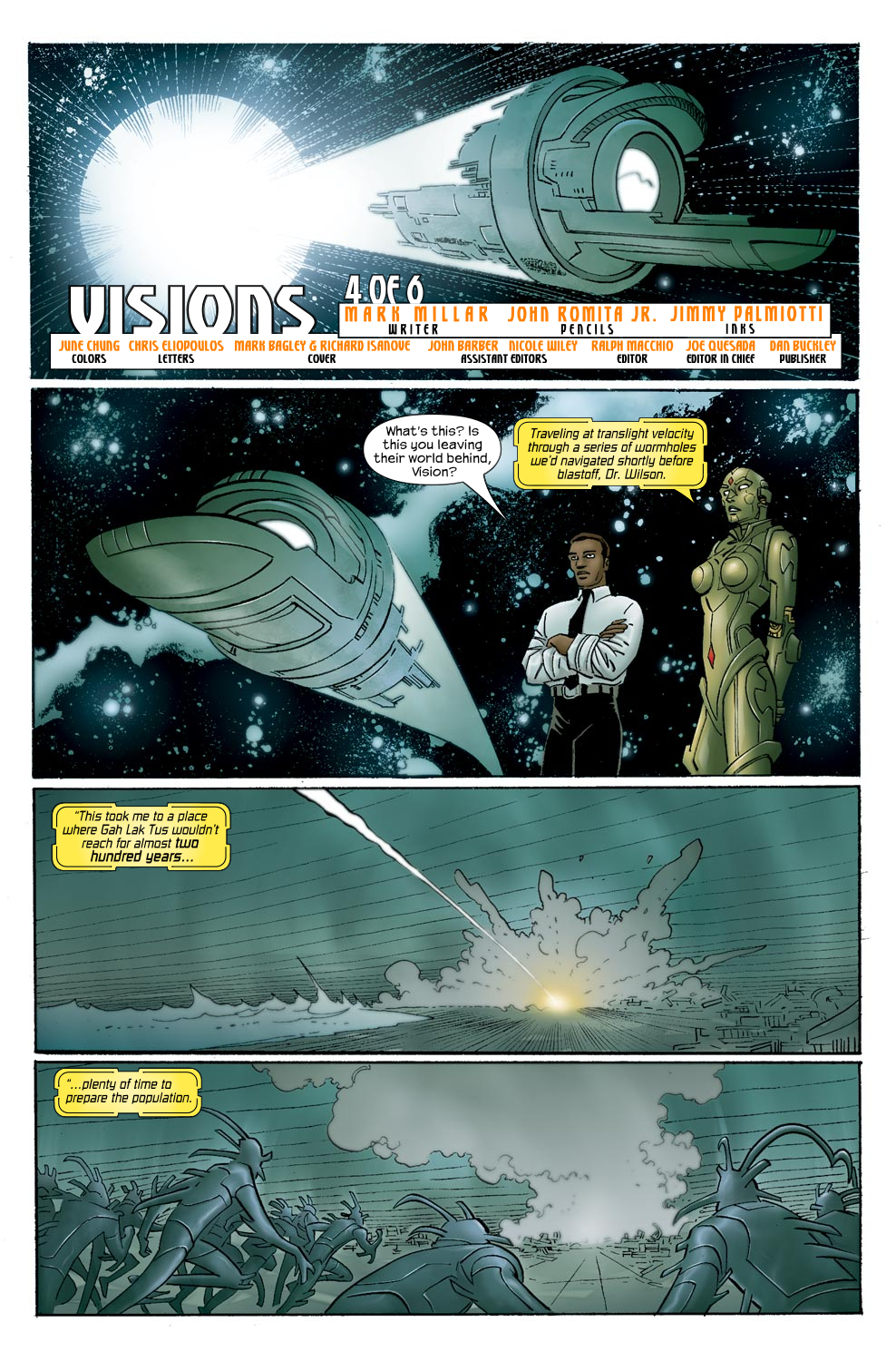 Read online Ultimate Vision comic -  Issue #0 - 15