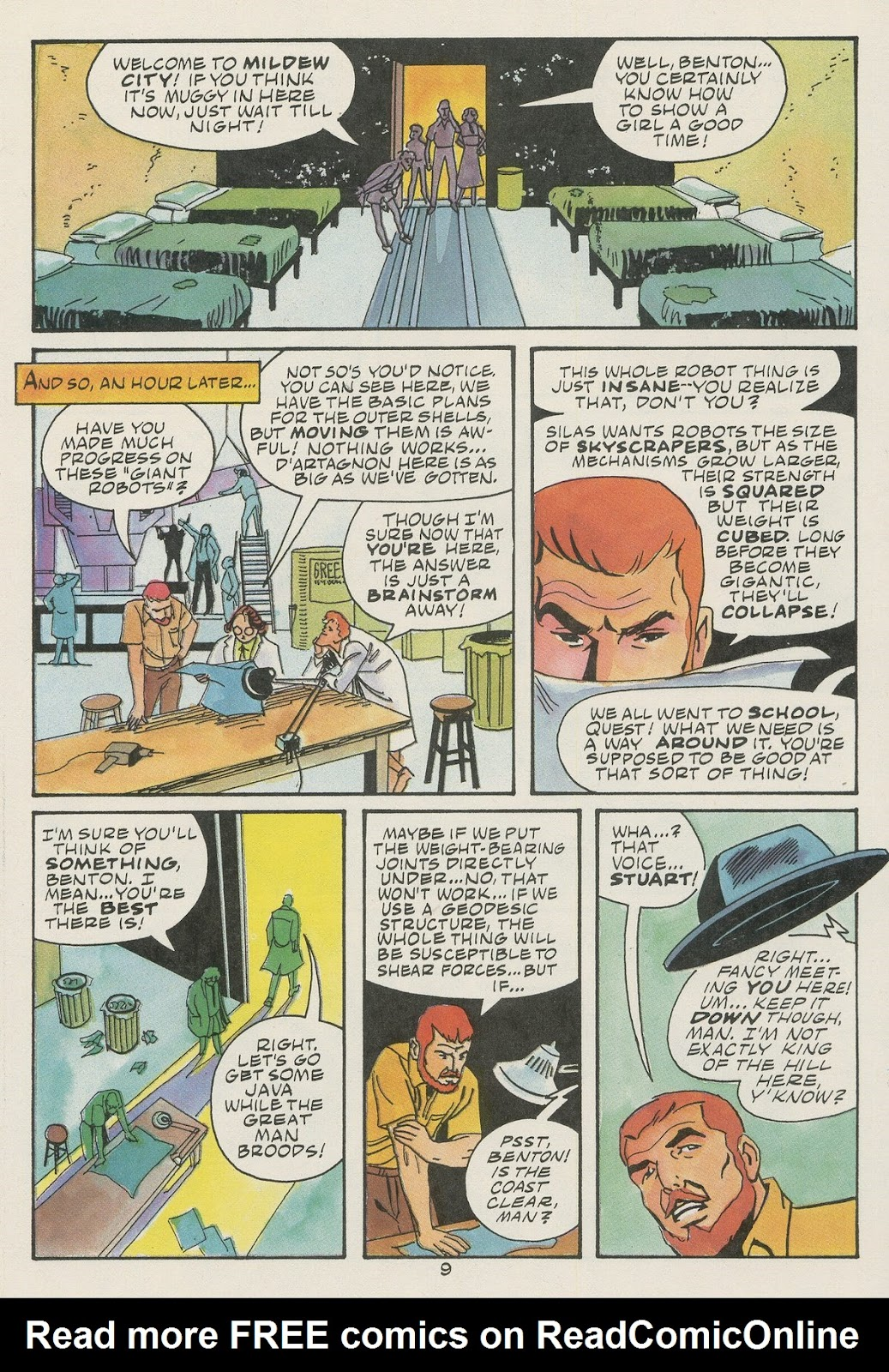 Jonny Quest (1986) issue 17 - Page 11