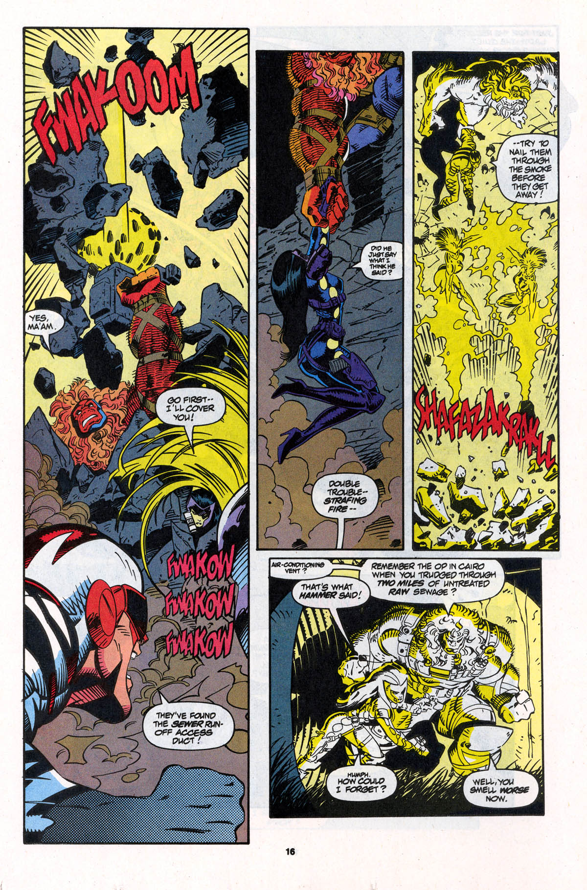 Read online X-Force (1991) comic -  Issue #23 - 16