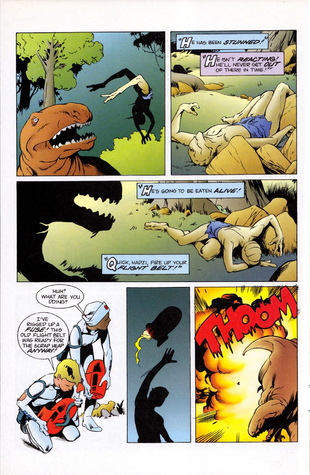 Read online The Real Adventures of Jonny Quest comic -  Issue #11 - 6