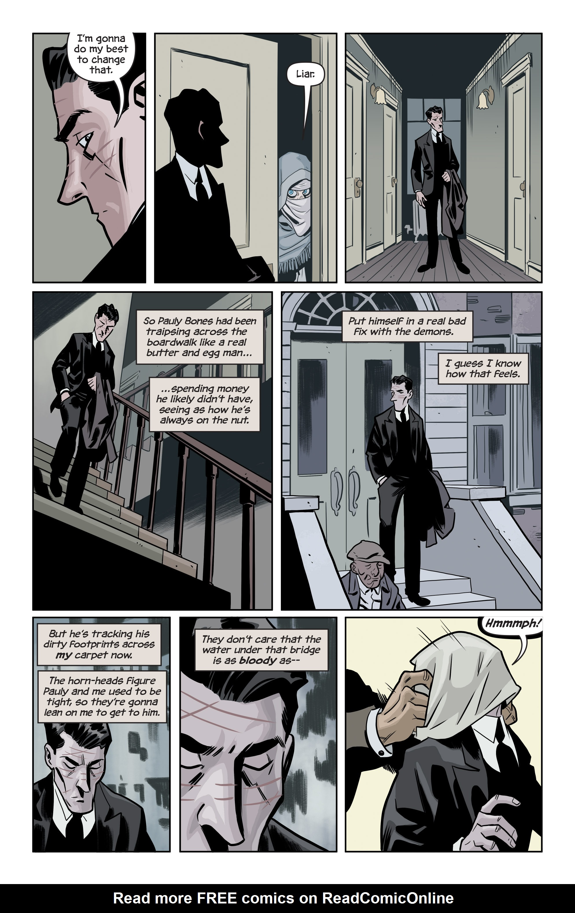 Read online The Damned comic -  Issue #1 - 20