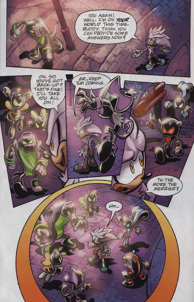 Read online Sonic Universe comic -  Issue #25 - 27