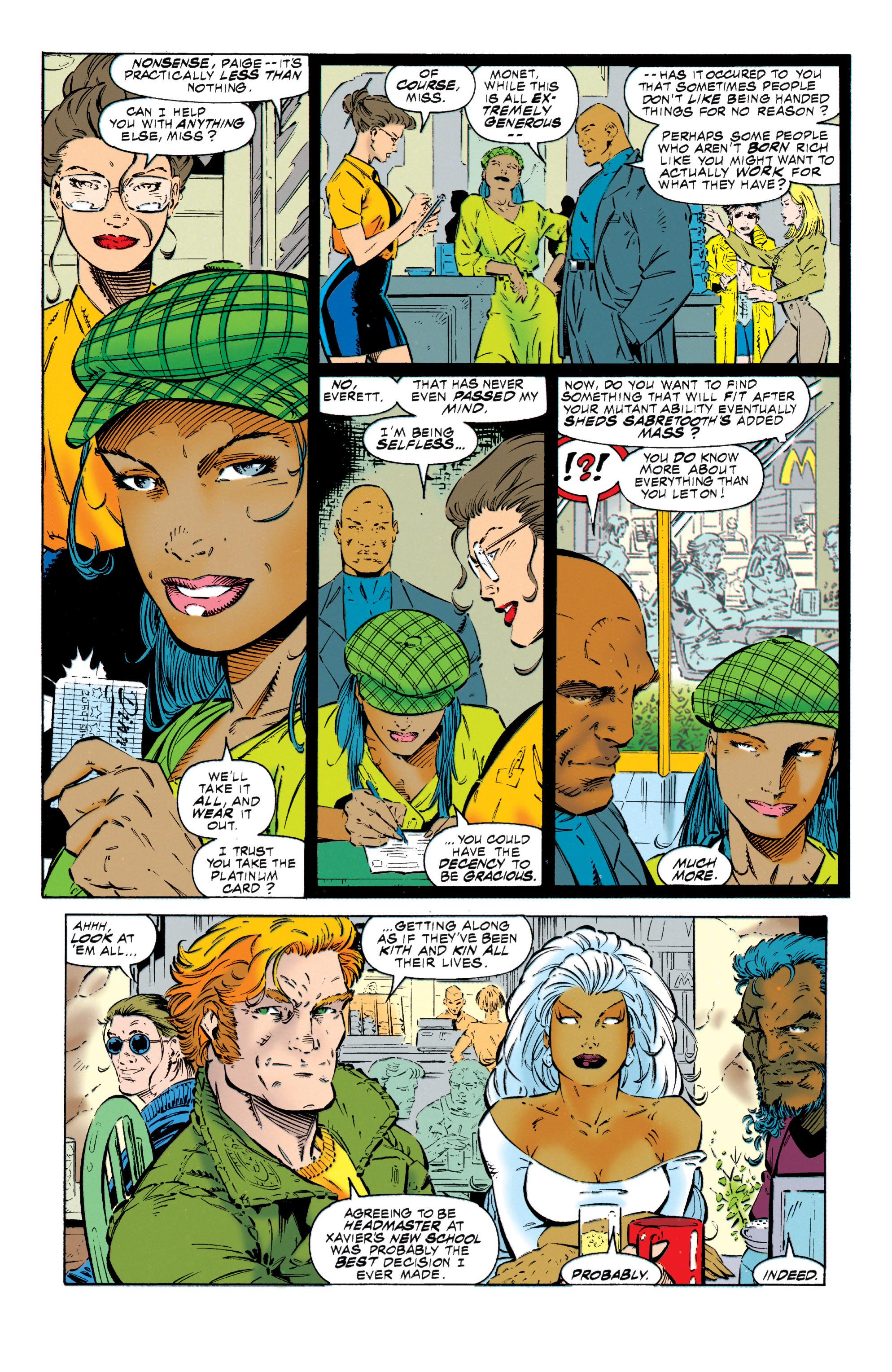 Read online Uncanny X-Men (1963) comic -  Issue #318 - 9