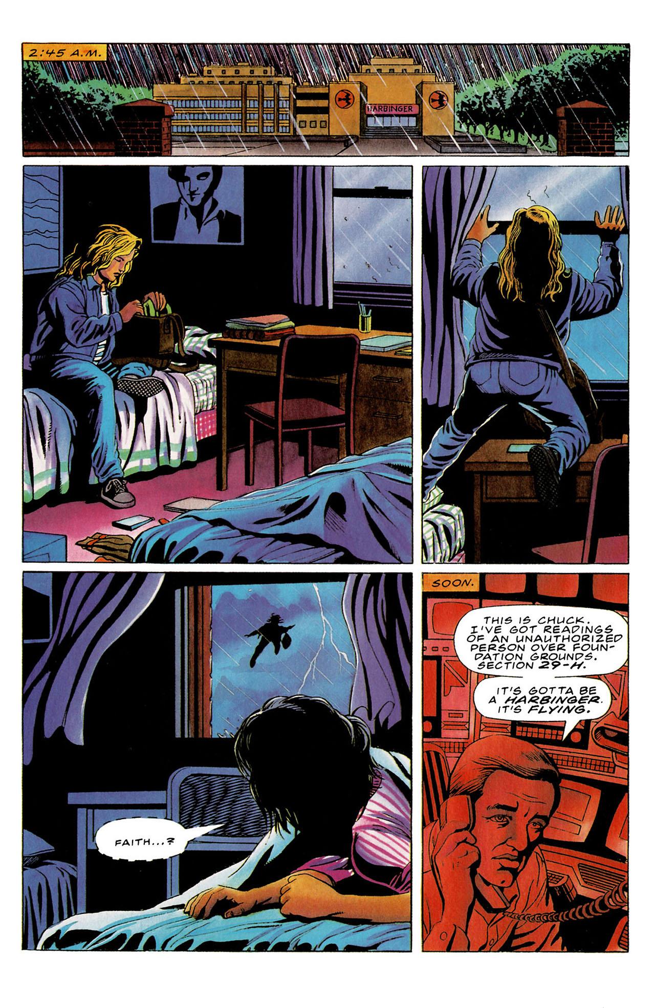Read online Harbinger (1992) comic -  Issue #26 - 20