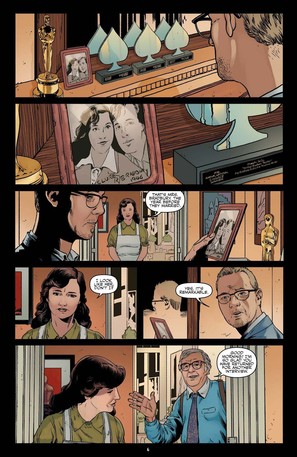 Read online Shadow Show: Stories in Celebration of Ray Bradbury comic -  Issue #3 - 8