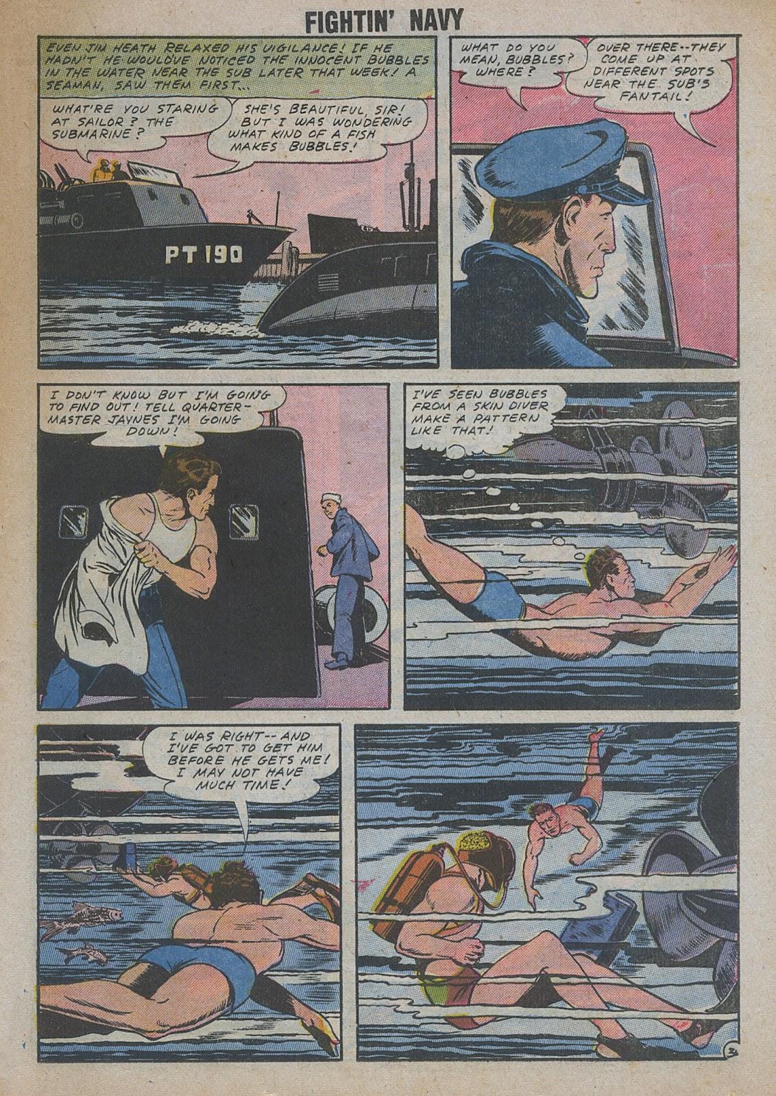 Read online Fightin' Navy comic -  Issue #82 - 45