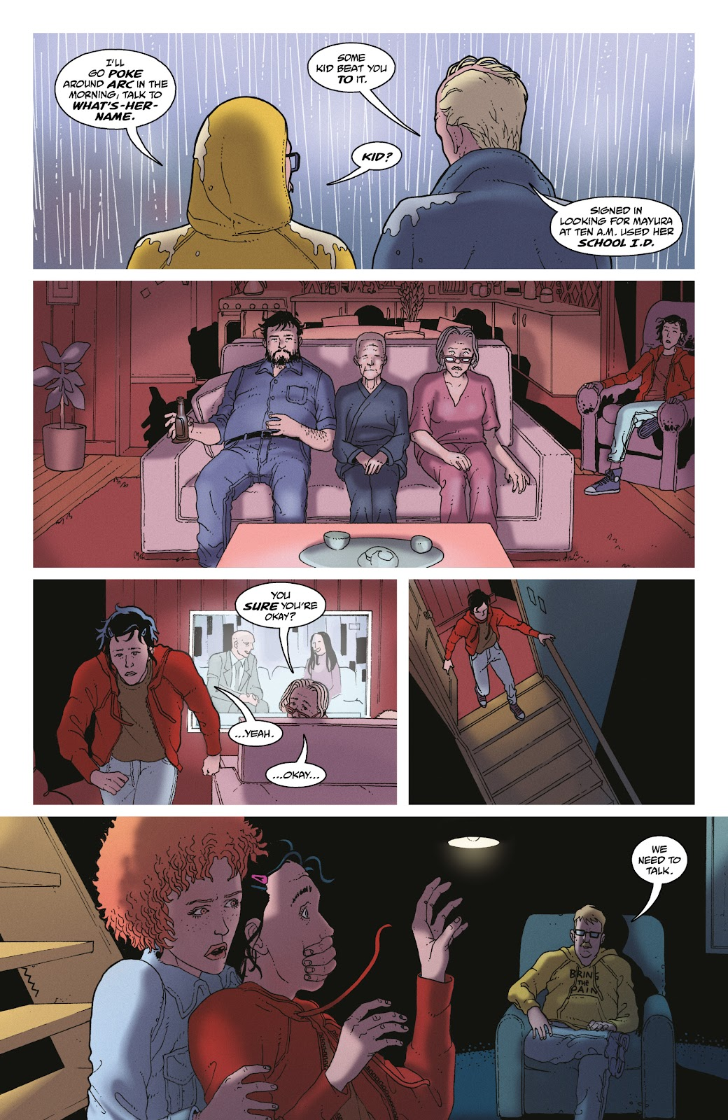 Read online She Could Fly comic -  Issue # _TPB - 73