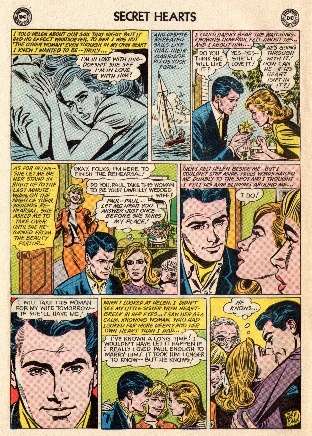 Read online Secret Hearts comic -  Issue #95 - 10