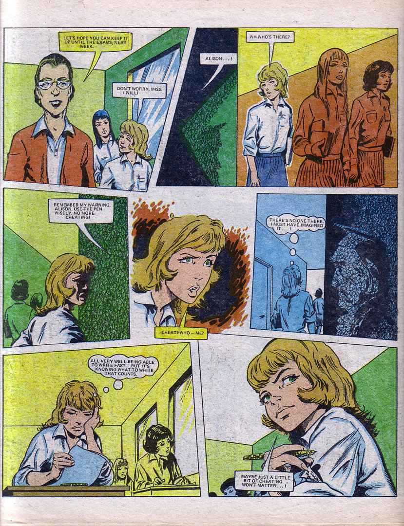 Read online Misty comic -  Issue #72 - 16