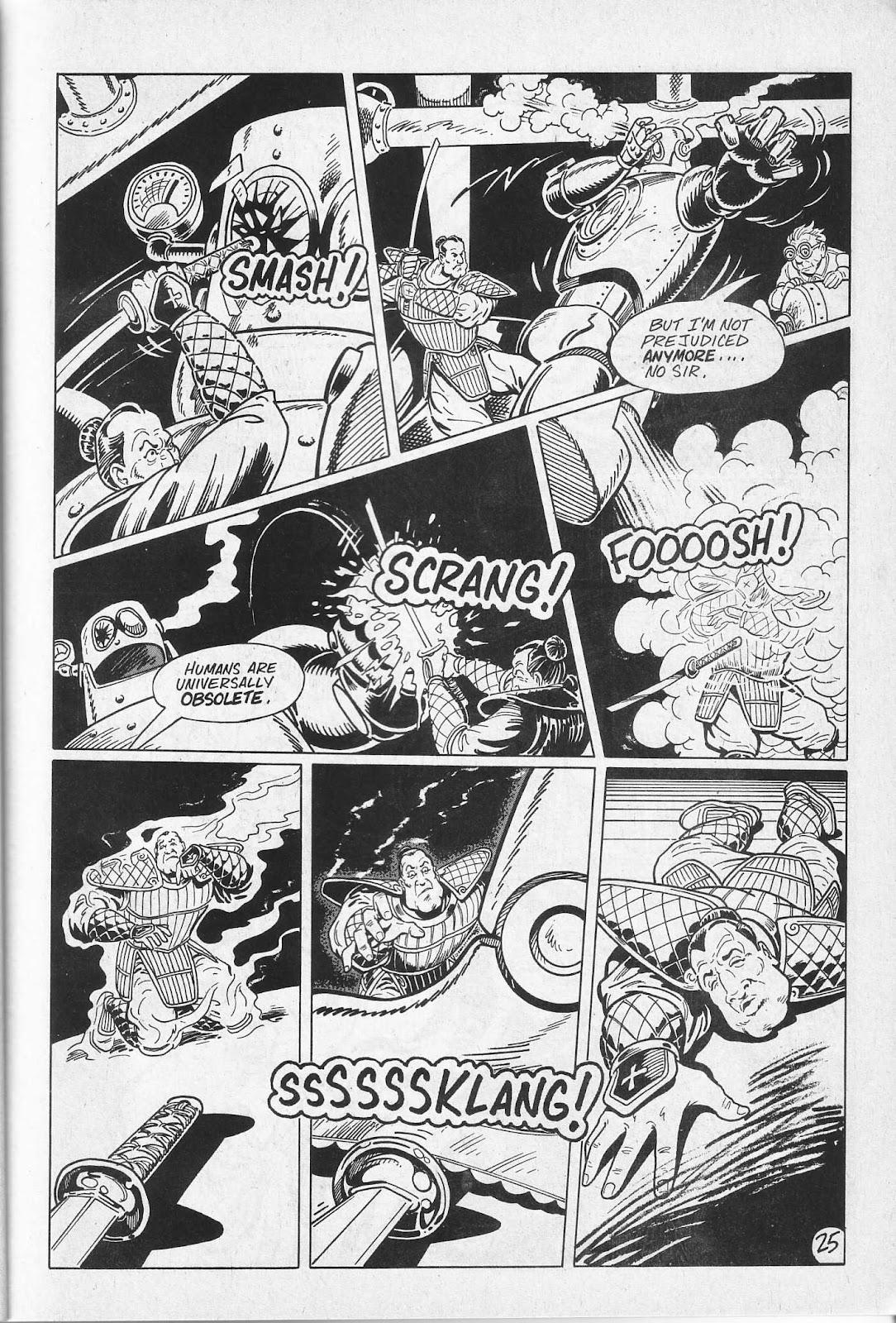 Read online Paul the Samurai (1991) comic -  Issue # TPB - 31