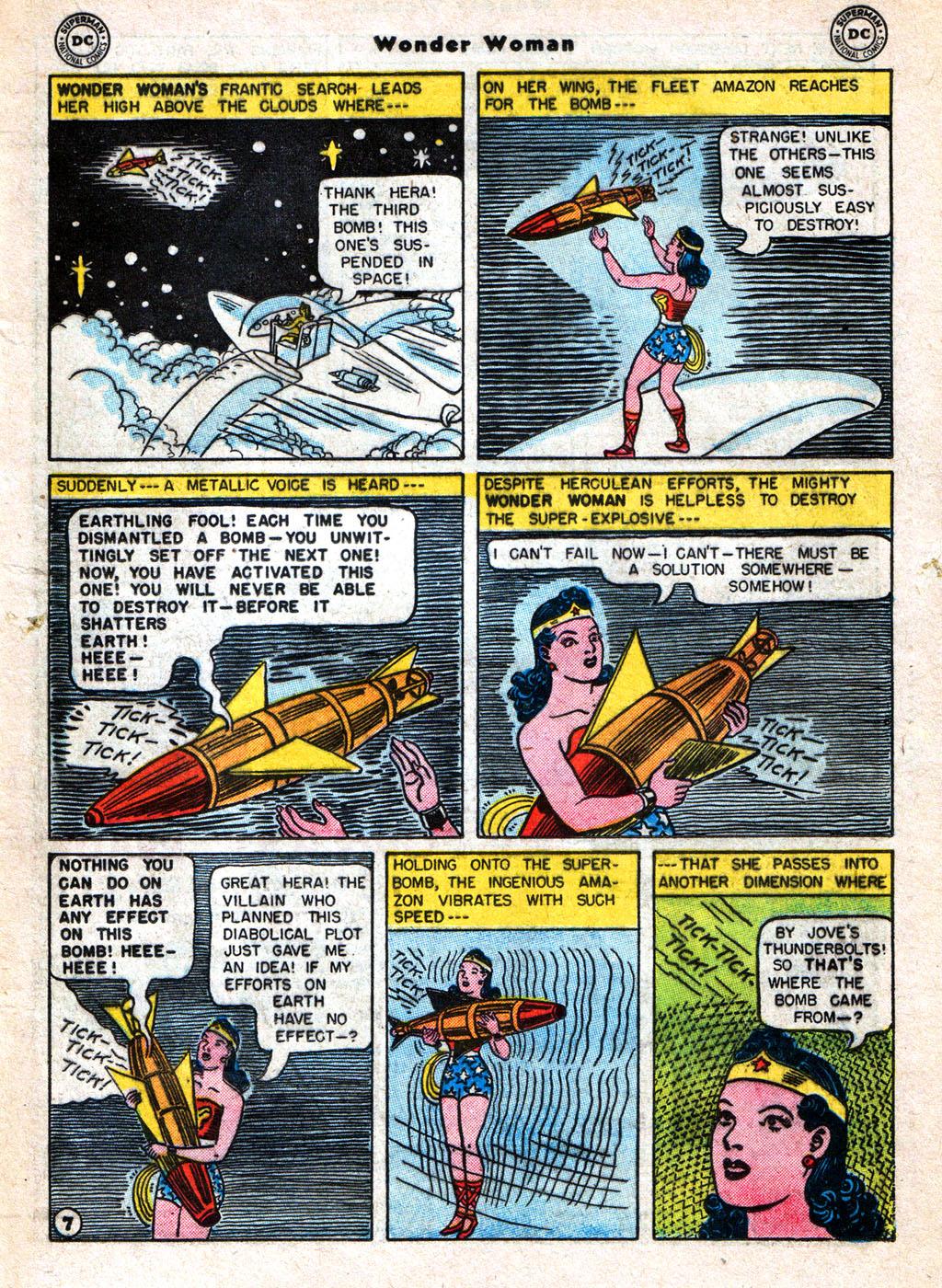 Read online Wonder Woman (1942) comic -  Issue #77 - 19