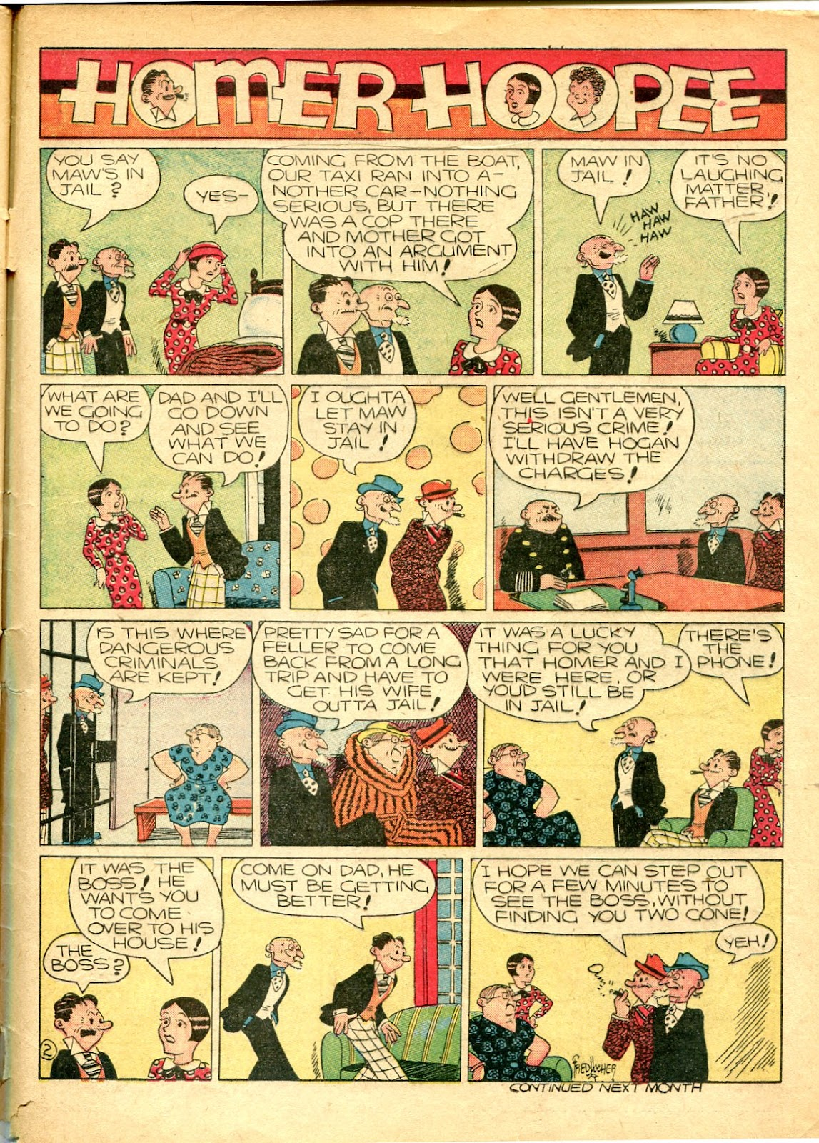Read online Famous Funnies comic -  Issue #77 - 62