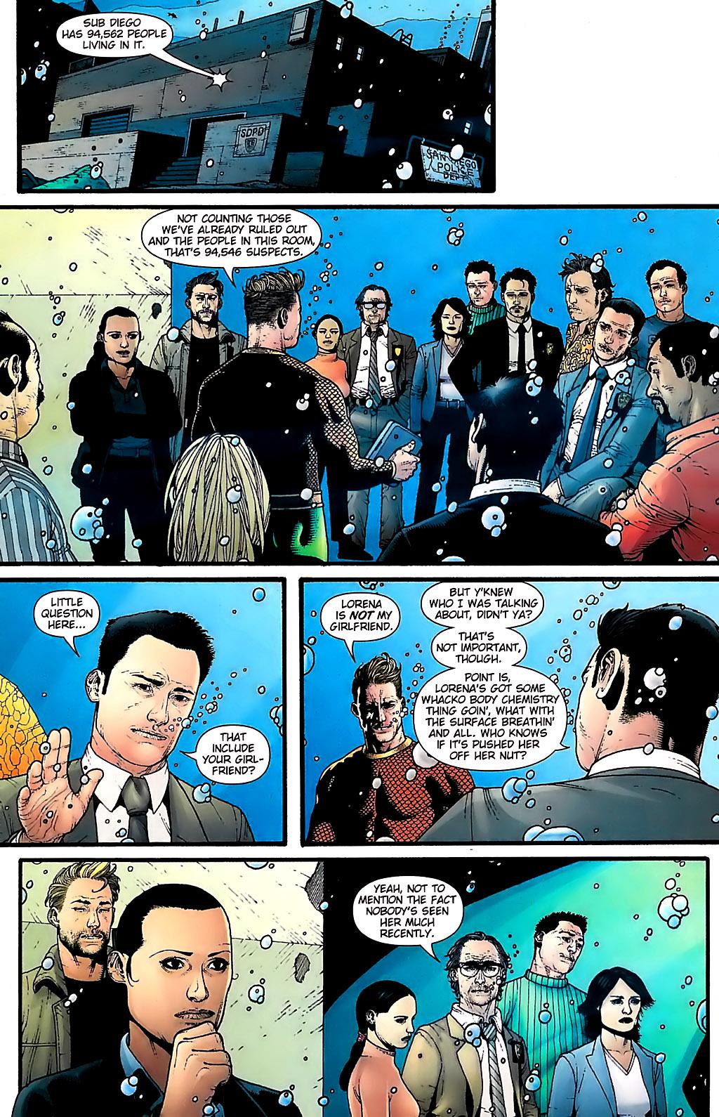 Read online Aquaman (2003) comic -  Issue #31 - 8