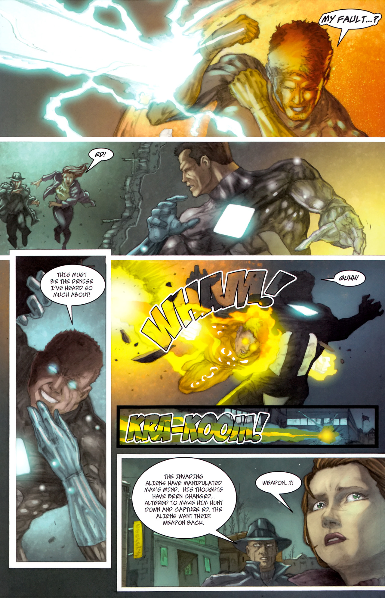 Read online Phoenix comic -  Issue #3 - 6