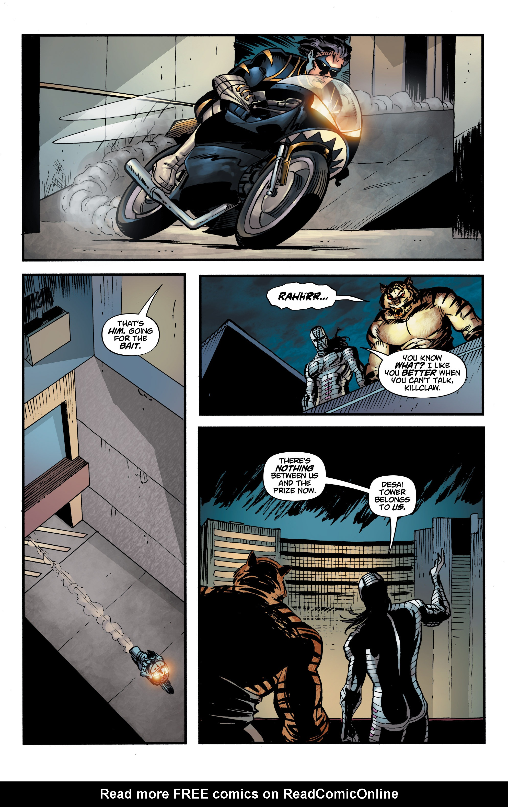 Read online Shadow Tiger comic -  Issue #3 - 18