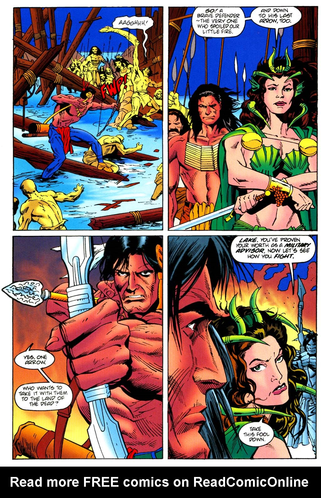 Read online Turok, Dinosaur Hunter (1993) comic -  Issue #46 - 13