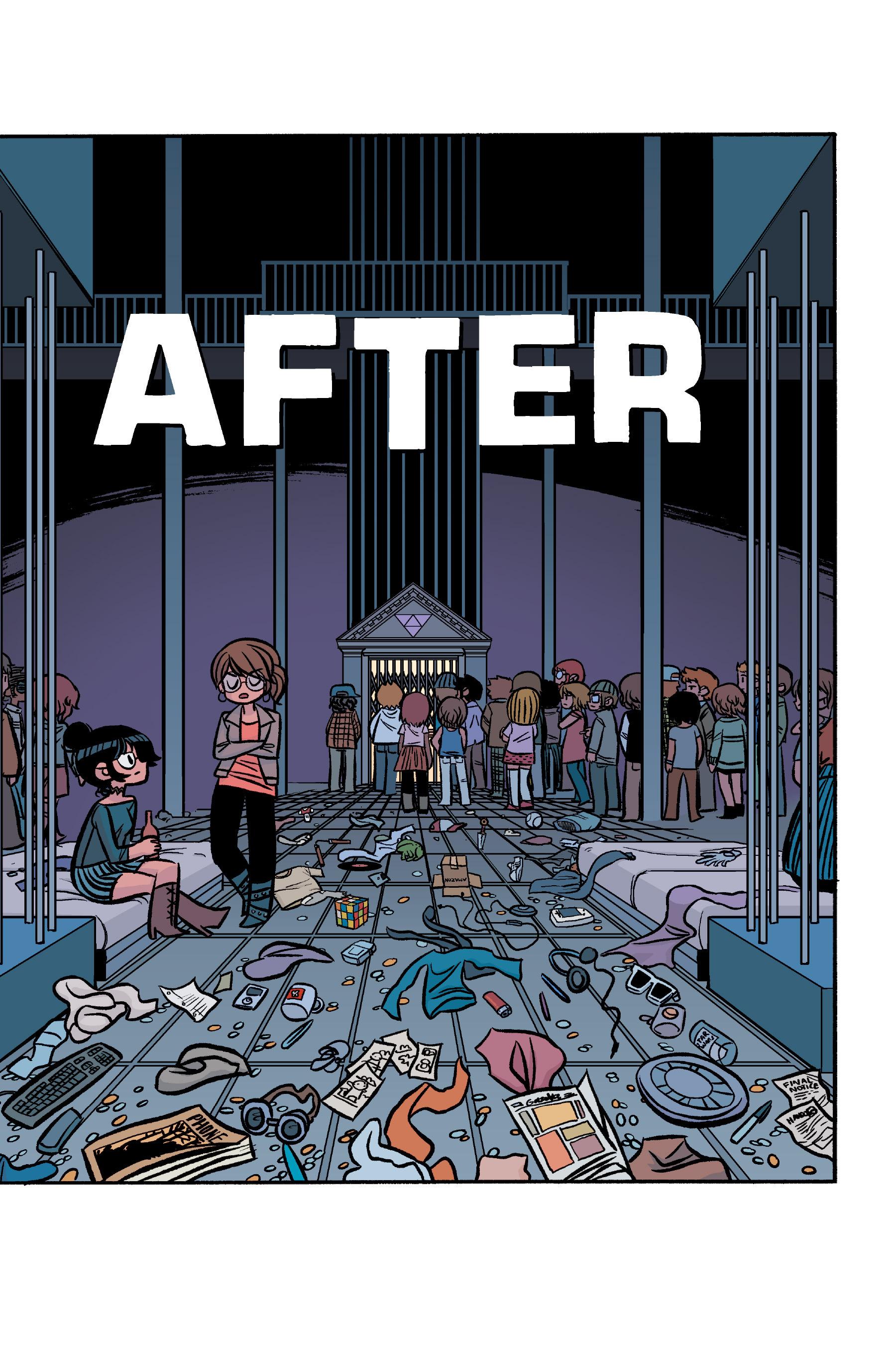 Read online Scott Pilgrim comic -  Issue #6 - 216