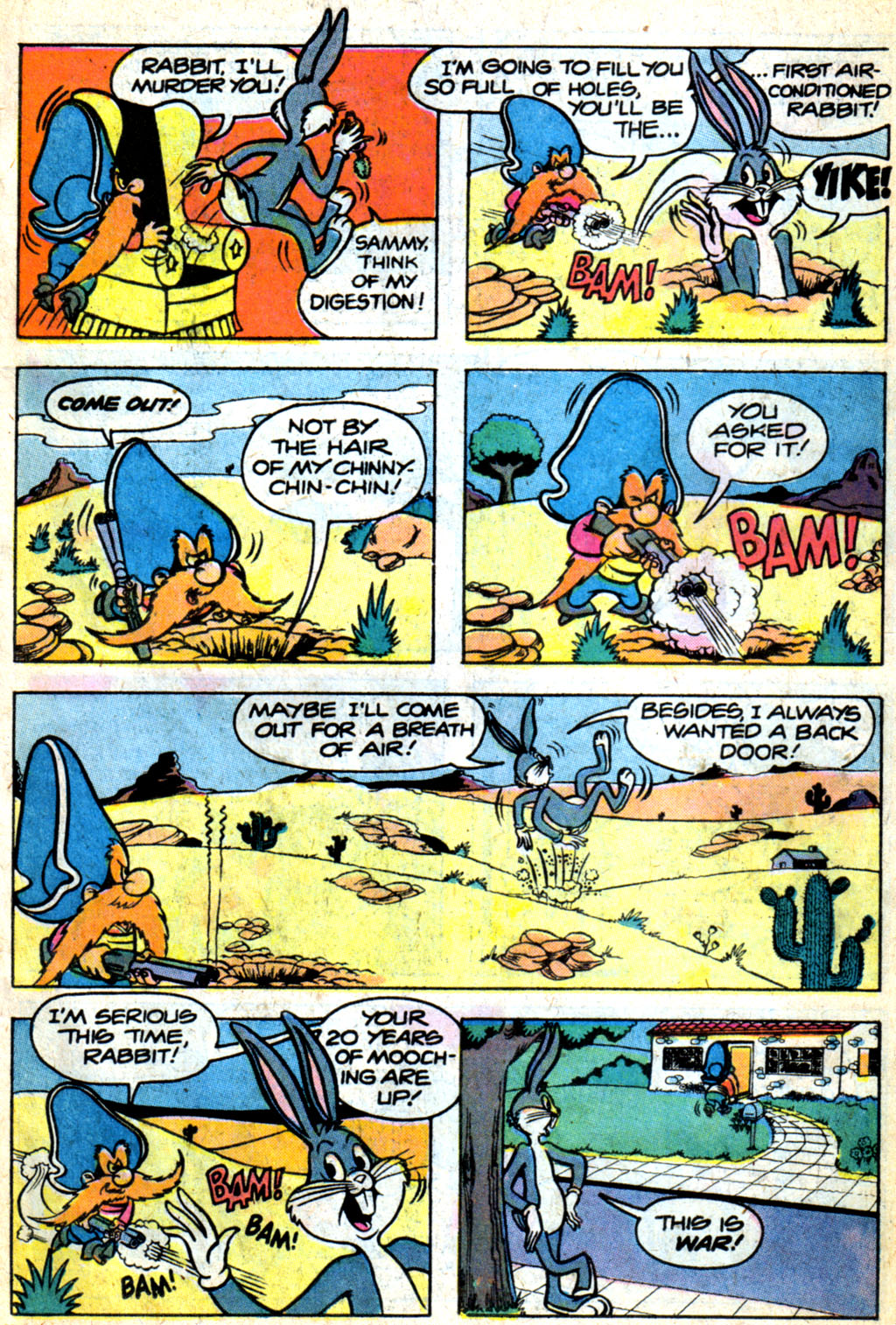 Yosemite Sam and Bugs Bunny issue 44 - Page 10