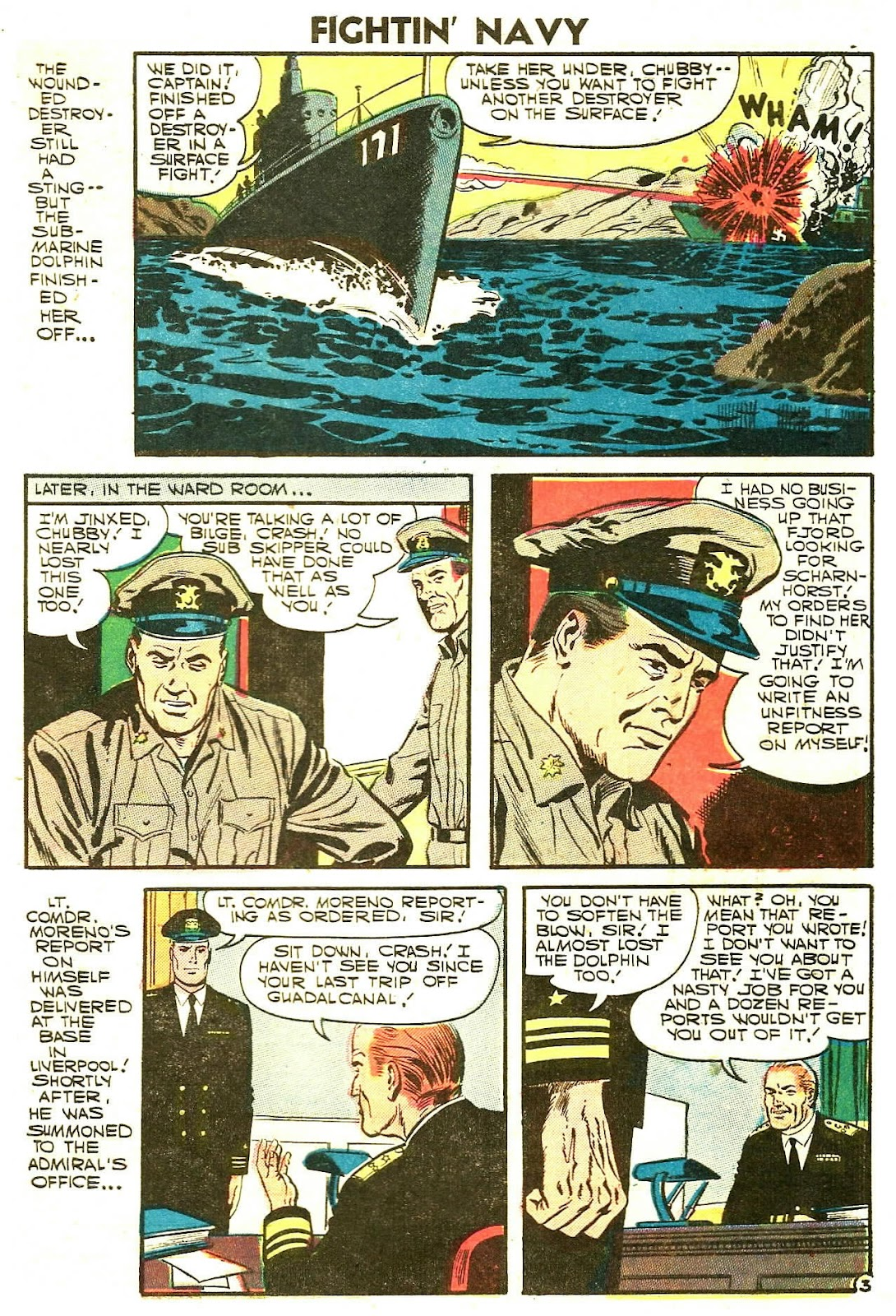 Read online Fightin' Navy comic -  Issue #78 - 5