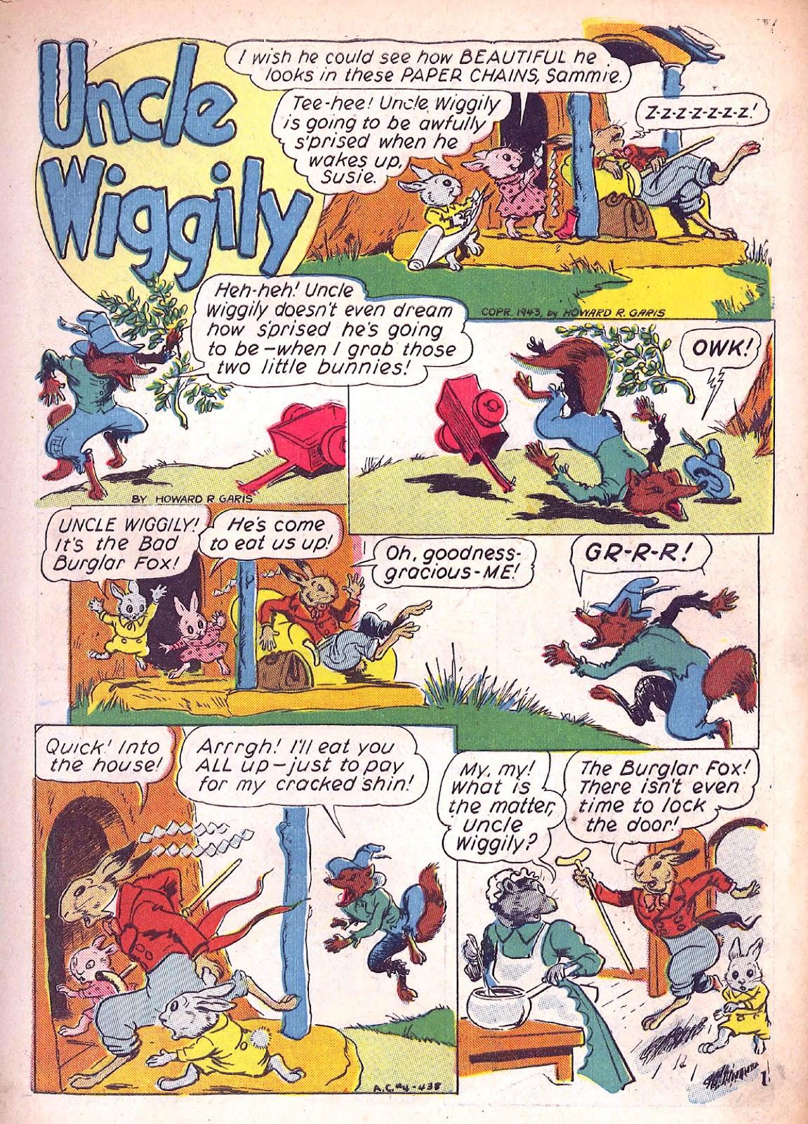 Read online Animal Comics comic -  Issue #4 - 4