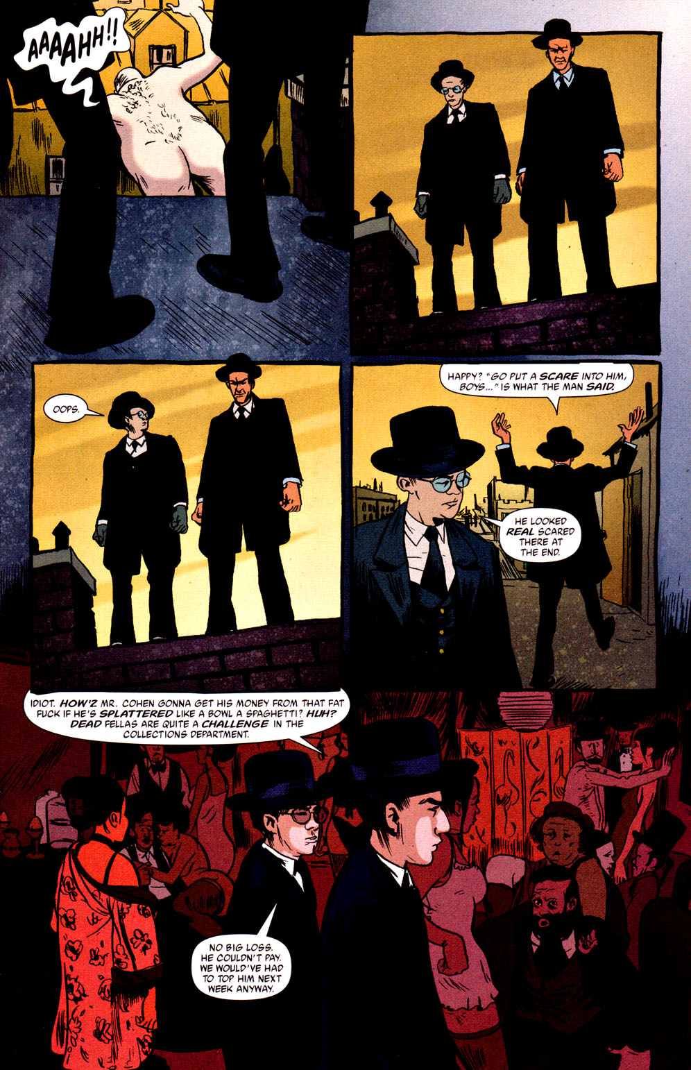 Read online Caper comic -  Issue #1 - 10