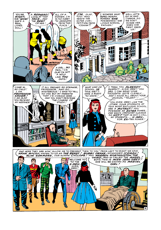 Uncanny X-Men (1963) -1 Page 8