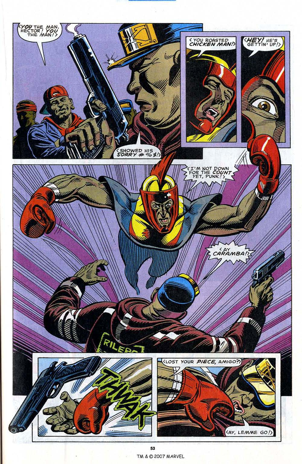 Read online Captain America (1968) comic -  Issue # _Annual 12 - 55