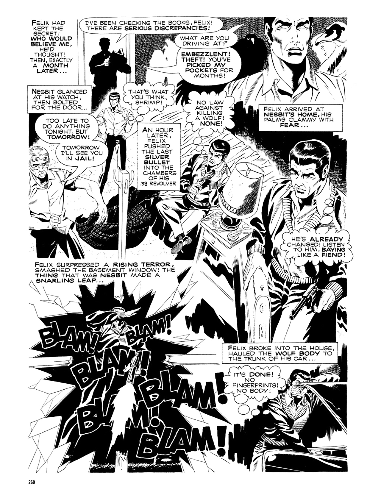 Read online Eerie Archives comic -  Issue # TPB 5 - 261
