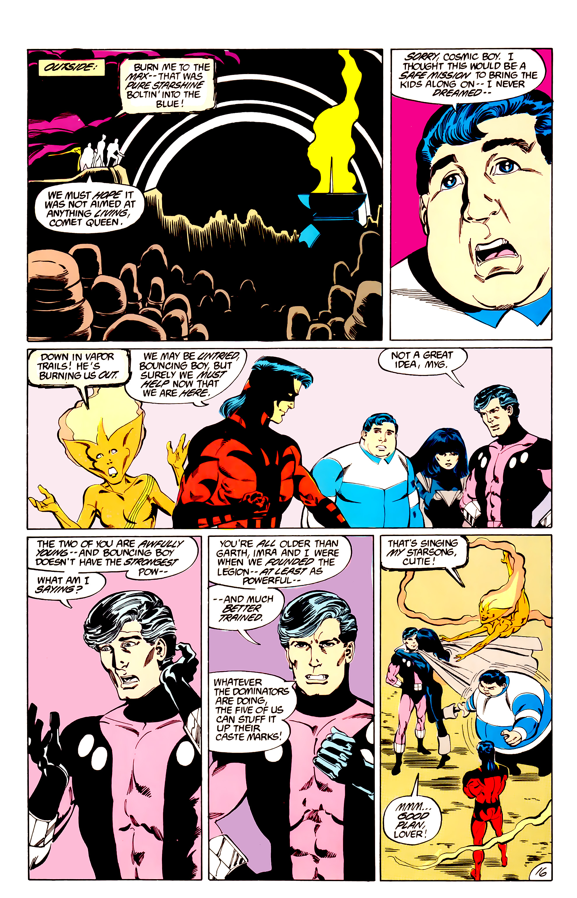 Legion of Super-Heroes (1984) _Annual_3 Page 16
