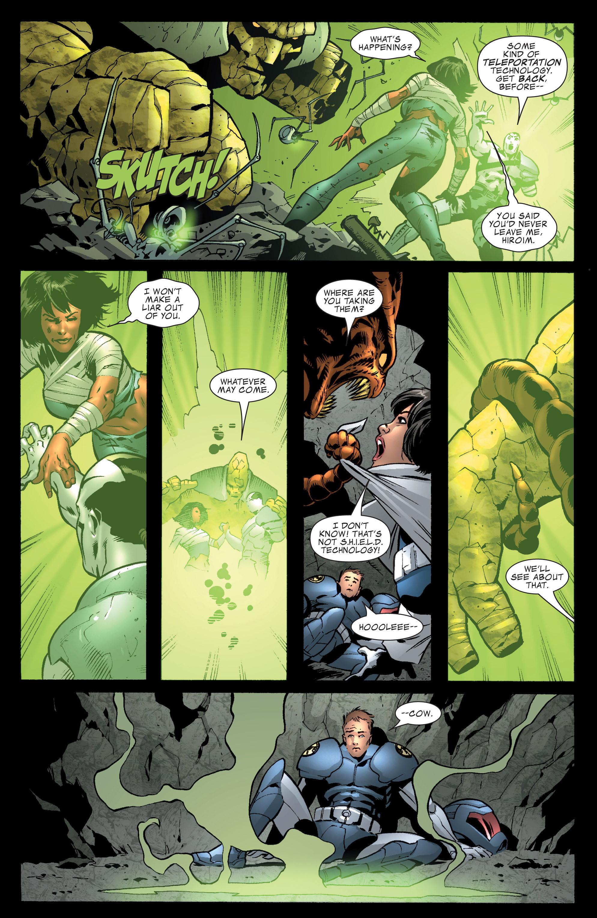 Read online World War Hulk Aftersmash: Warbound, Vol. 1 comic -  Issue #1 - 8