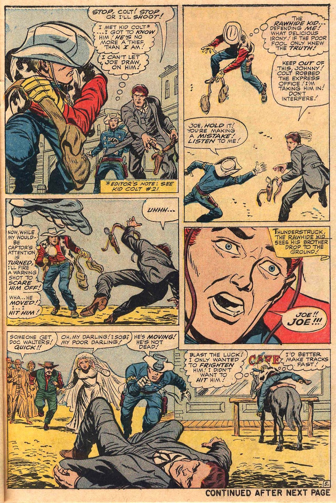 The Rawhide Kid (1955) issue 50 - Page 7